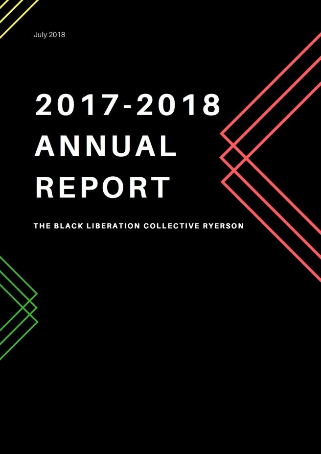 2017-2018 Annual Report - BLC Ryerson