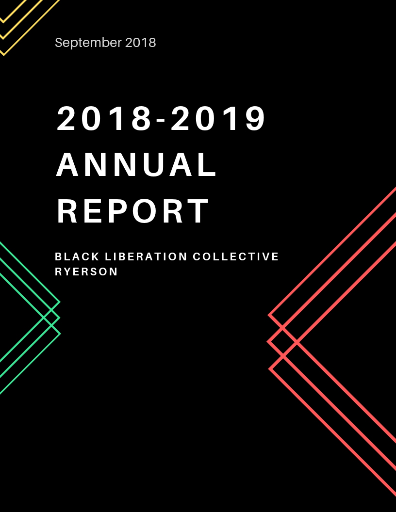 THE BLACK LIBERATION COLLECTIVE RYERSON